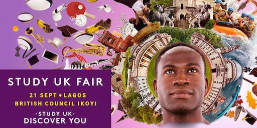 Study UK Fair 2019, Lagos.