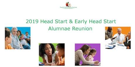 2019 Head Start & Early Head Start Alumnae Reunion (Special Invite) tickets