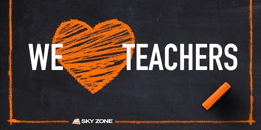 Teacher Tuesdays Sky Zone Fort Wayne