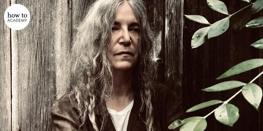 Patti Smith in Conversation and Performance  |  with Erica Wagner and Tony Shanahan