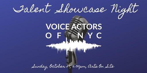 Voice Actors of NYC Talent Showcase