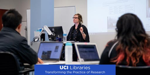 UCI Libraries - Programming with Python