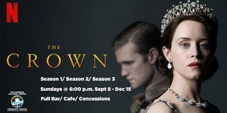 THE CROWN- FREE - Seasons 1, 2, 3 tickets