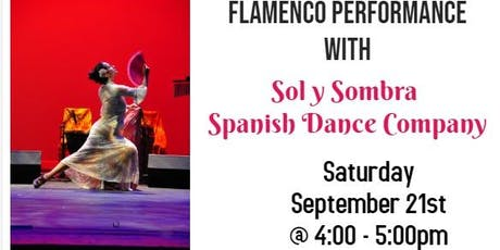 Free Flamenco Performance: Sol y Sombra Spanish Dance Company entradas