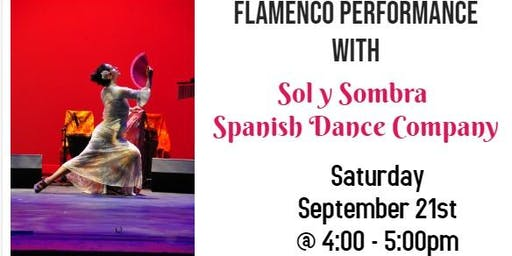 Free Flamenco Performance: Sol y Sombra Spanish Dance Company
