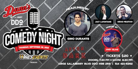 Comedy Night at Dunn's DDO Headlined by Gino Durante tickets