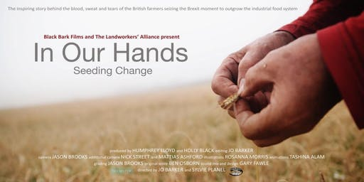 Event Launch & Screening: 'IN OUR HANDS - SEEDING CHANGE'