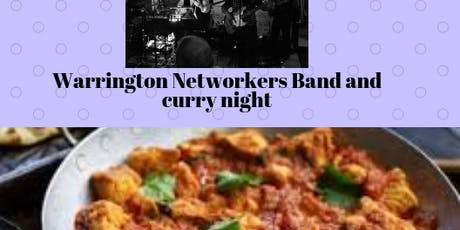 Band and Curry Networking Social tickets