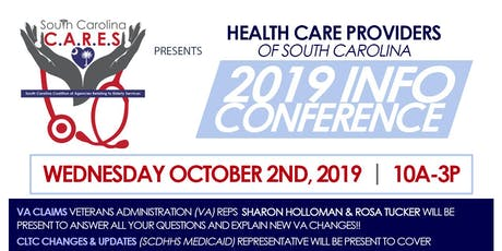 Health Care Providers 2019 Info Conference hosted by SC CARES tickets