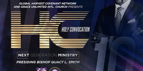 2019 NGM Holy Convocation  tickets