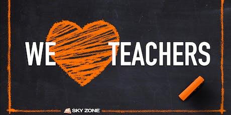 Teacher Tuesdays Sky Zone Mishawaka tickets