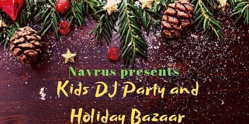 KIDS Bollywood DJ Party & Holiday Bazaar