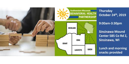SW WI Fall Mental Health Matters Summit 2019