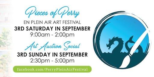 Pieces of Perry En Plein Air Art Auction Social