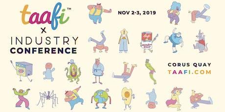 TAAFI INDUSTRY 2019 tickets