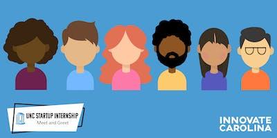 2019 UNC Startup Internship Meet and Greet