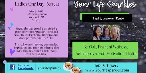 Ladies One Day Retreat Westlock AB Early Bird Tickets ON SALE now