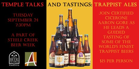 Temple Talks & Tastings: Trappist Ales tickets