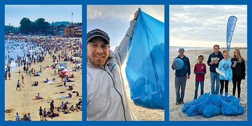 West Marine Brick Presents Beach Cleanup Awareness Day