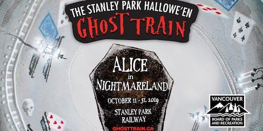 Ghost Train 2019 @ Stanley Park Railway - Volunteer Sign Up