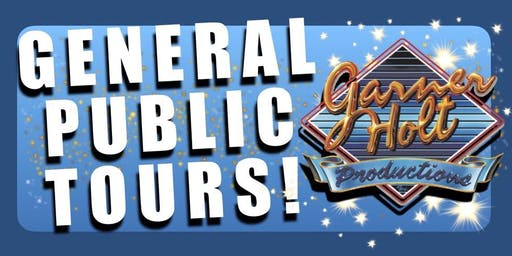 Garner Holt Productions General Public Tours!
