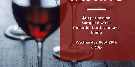 Wine Down Wednesday-wine tasting tickets