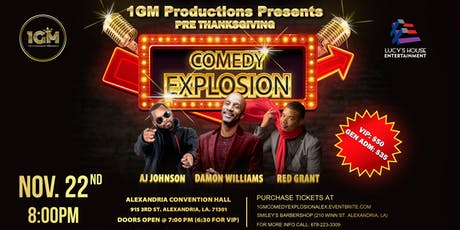 1GM's Comedy Explosion tickets