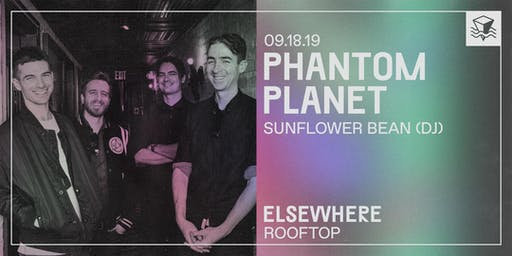 Phantom Planet @ Elsewhere (Rooftop)