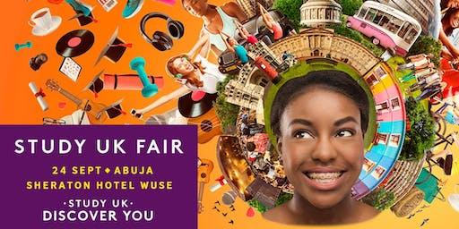 Study UK Fair 2019, Abuja.
