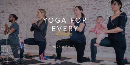 Yin 'O' Clock Yoga for every 'body'