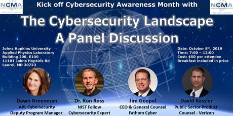 The Cybersecurity Landscape  - A Panel Discussion tickets