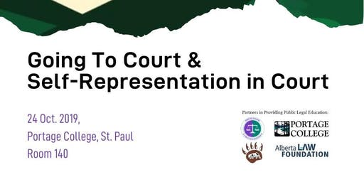 Going To Court & Self-Representation in Court