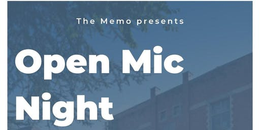 The Memo presents: Open Mic Night