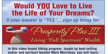 Prosperity Plus III tickets