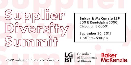 LGBT Chamber of Commerce of IL Supplier Diversity Summit tickets