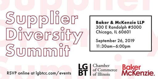 LGBT Chamber of Commerce of IL Supplier Diversity Summit