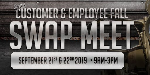 Bert's Fall 2019 Swap Meet