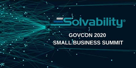 GovCon 2020 Small Business Summit tickets
