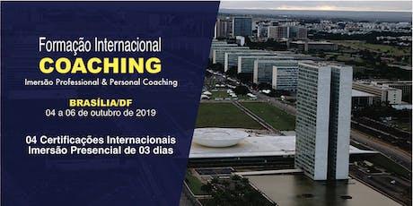 [BRASÍLIA] FORMAÇÃO EM COACHING - IMERSÃO PPC - 04 A 06 DE OUTUBRO ingressos