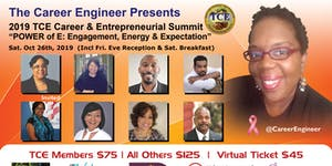 """2019 TCE Career & Entrepreneurial Summit: """"The POWER..."""