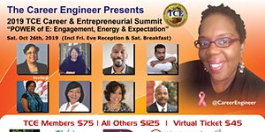 "2019 TCE Career & Entrepreneurial Summit: ""The POWER..."