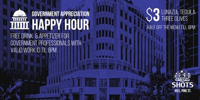 Orlando Government Professionals Appreciation Happy Hour