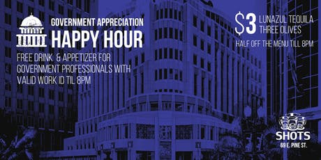 Orlando Government Professionals Appreciation Happy Hour tickets
