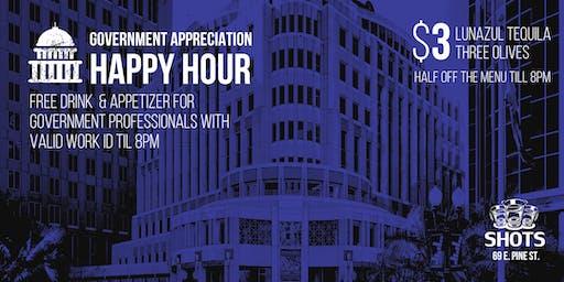 Orlando Government Professionals Appreciation Happy Hour