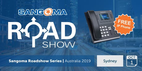 Sangoma Roadshow Sydney - October 2019 tickets