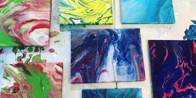 Fluid Art Painting