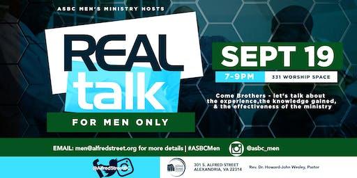 Men's Real Talk-September