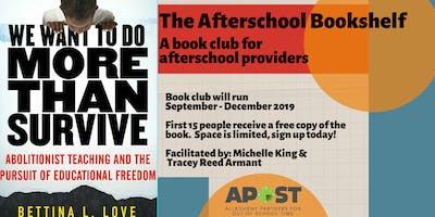 The Afterschool Bookshelf - Book Club