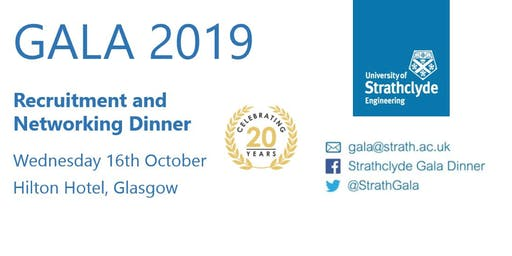 University of Strathclyde Faculty of Engineering Gala Dinner