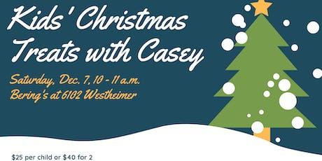 Kids' Christmas Treats with Casey! tickets